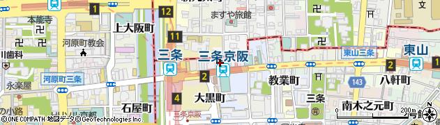 鈴木形成外科周辺の地図