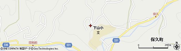 愛知県岡崎市保久町(寺ノ入)周辺の地図