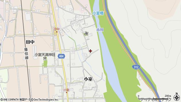 〒679-2331 兵庫県神崎郡市川町小室の地図