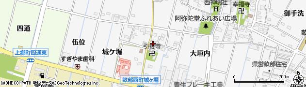 愛知県豊田市畝部西町(国江)周辺の地図