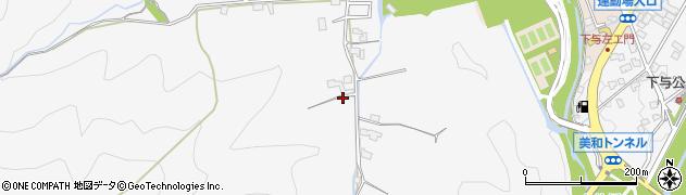 静岡県静岡市葵区西ヶ谷周辺の地図
