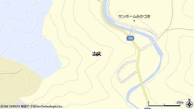 〒679-5136 兵庫県佐用郡佐用町志文の地図