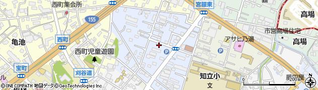 愛知県知立市桜木町(桜木)周辺の地図