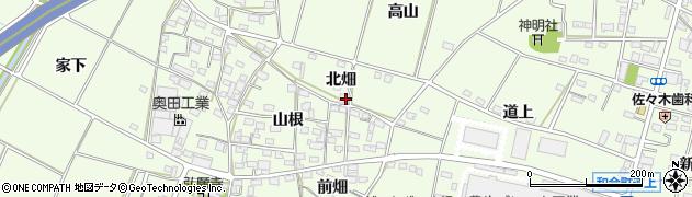 愛知県豊田市和会町(北畑)周辺の地図