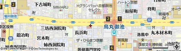 京都府京都市中京区円福寺町周辺の地図