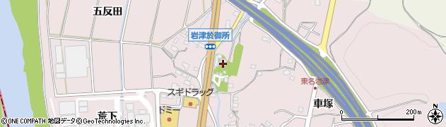 西林院周辺の地図