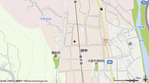 〒679-2332 兵庫県神崎郡市川町田中の地図