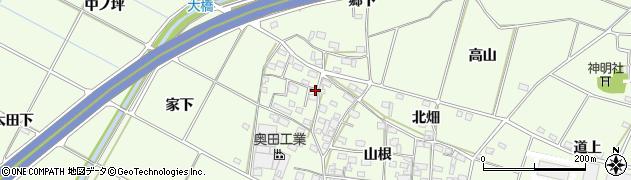 愛知県豊田市和会町周辺の地図