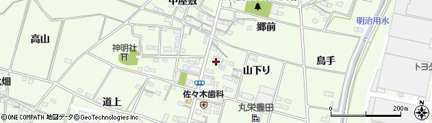 愛知県豊田市和会町(山下り)周辺の地図