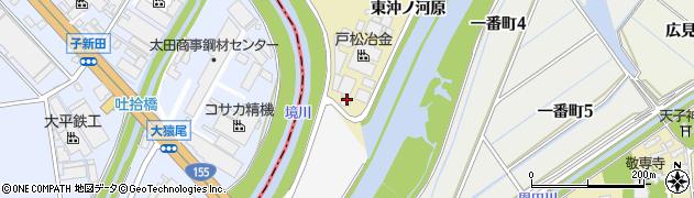愛知県刈谷市泉田町(東沖ノ河原)周辺の地図