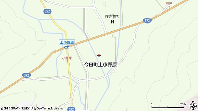 〒669-2132 兵庫県丹波篠山市今田町上小野原の地図