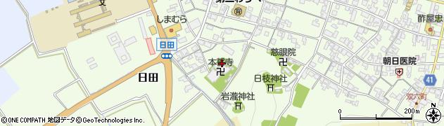 東本誓寺周辺の地図