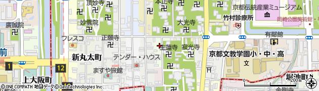 京都府京都市左京区福本町周辺の地図