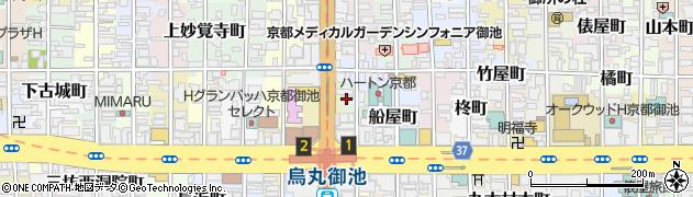京都府京都市中京区塗師屋町周辺の地図