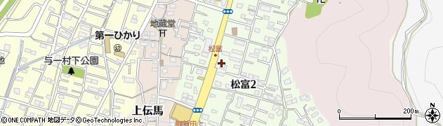 静岡県静岡市葵区松富周辺の地図
