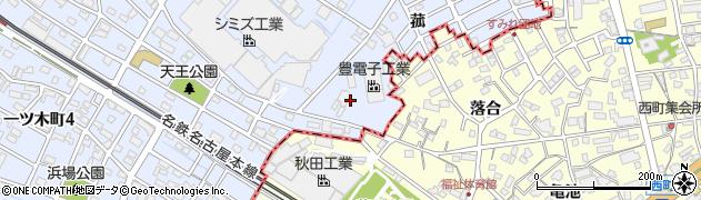 愛知県刈谷市一ツ木町(茶煎坊)周辺の地図