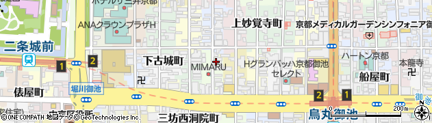 京都府京都市中京区下松屋町周辺の地図