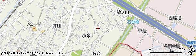 愛知県豊田市花園町(小泉)周辺の地図