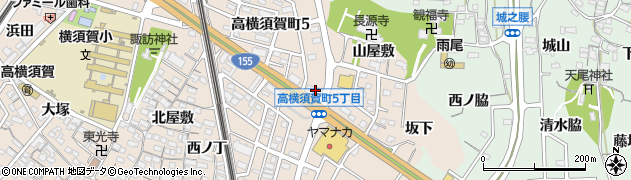 長楽東海店周辺の地図