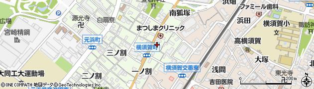 たかだ周辺の地図