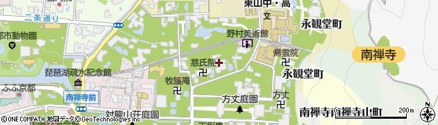 聴松院周辺の地図