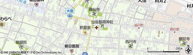 大聖寺周辺の地図