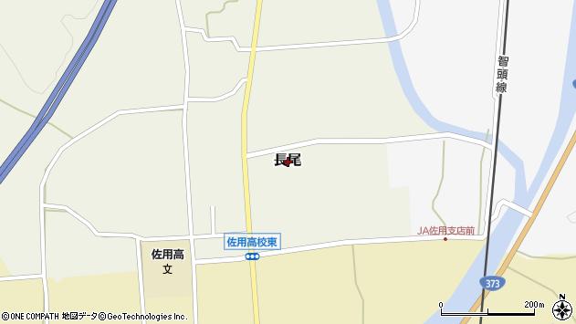 〒679-5305 兵庫県佐用郡佐用町長尾の地図