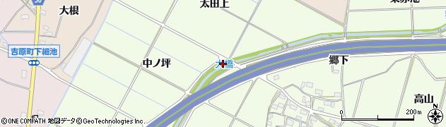 愛知県豊田市和会町(道下)周辺の地図