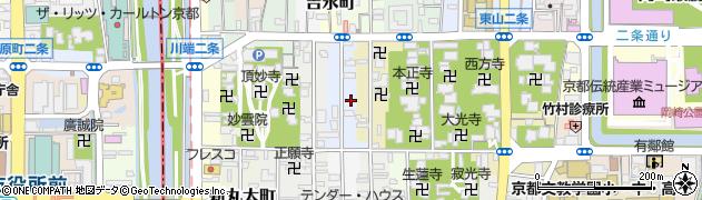京都府京都市左京区新東洞院町周辺の地図