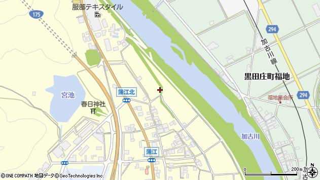 〒677-0021 兵庫県西脇市蒲江の地図