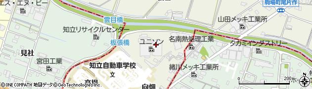 愛知県豊田市駒場町(藤池)周辺の地図