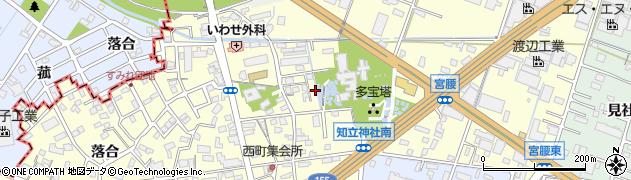 愛知県知立市西町(神田)周辺の地図