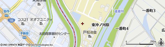 愛知県刈谷市泉田町(西沖ノ河原)周辺の地図