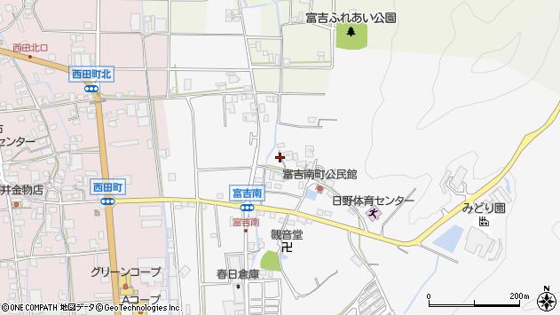 〒677-0012 兵庫県西脇市富吉南町の地図