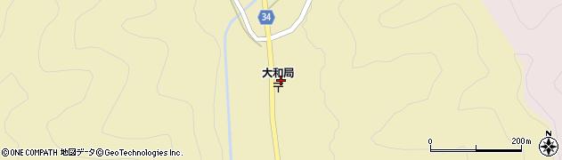 兵庫県多可町(多可郡)八千代区大和周辺の地図