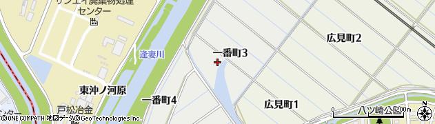 愛知県刈谷市一番町周辺の地図