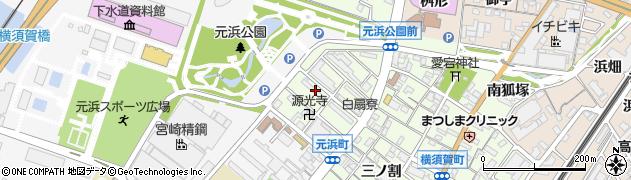 愛知県東海市横須賀町(扇島)周辺の地図
