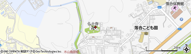 仏土寺周辺の地図