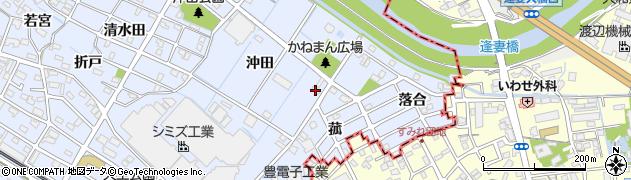愛知県刈谷市一ツ木町(沖田)周辺の地図