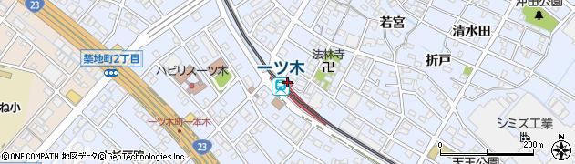 愛知県刈谷市周辺の地図