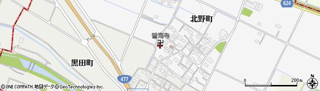 誓海寺周辺の地図