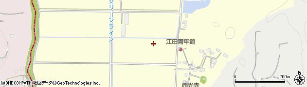 千葉県館山市江田周辺の地図