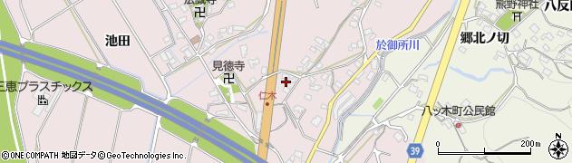 愛知県岡崎市仁木町(東郷)周辺の地図
