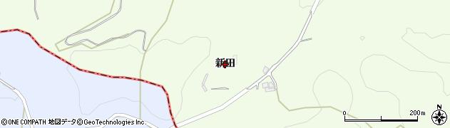 愛知県豊田市蘭町(新田)周辺の地図