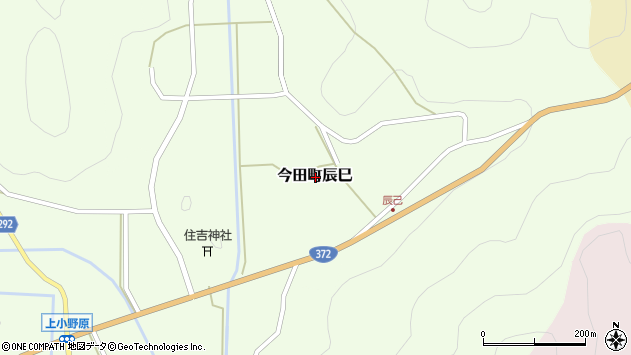 〒669-2131 兵庫県丹波篠山市今田町辰巳の地図