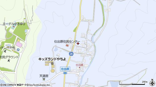〒677-0114 兵庫県多可郡多可町八千代区仕出原の地図