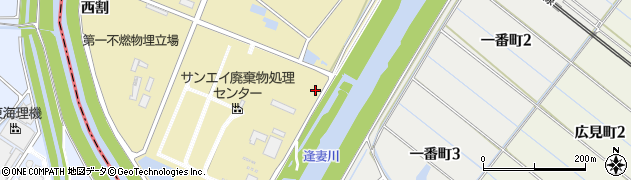 愛知県刈谷市泉田町(九郎兵衛)周辺の地図