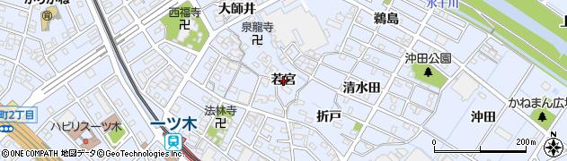 愛知県刈谷市一ツ木町(若宮)周辺の地図