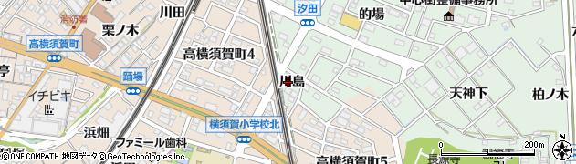 愛知県東海市大田町(川島)周辺の地図