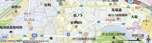 京都府亀岡市北町(艮)周辺の地図